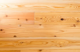 POINT2 耳納杉の無垢床材