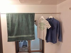 梅雨でも安心・浴室暖房乾燥機