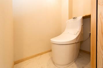 快適なトイレ空間に