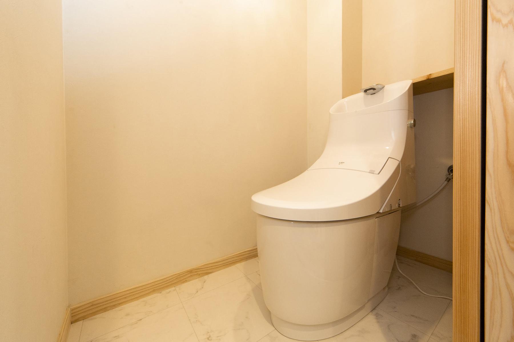 トイレも快適に